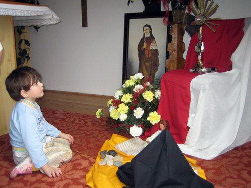 Svatá Anežka a Monička