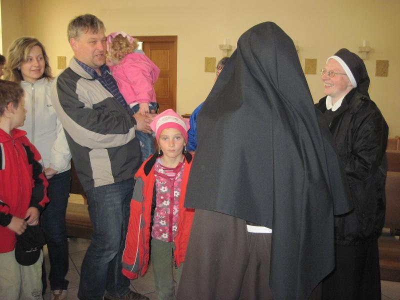 S Klariskou – sestrou Immaculatou