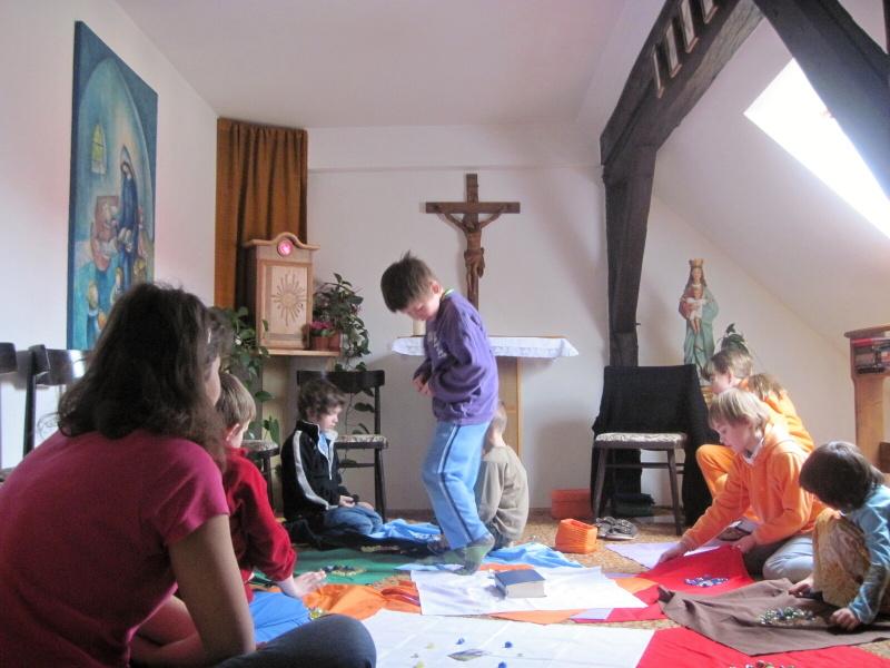 Setkání v kapli při SoŠko