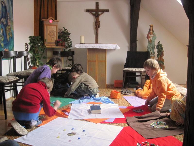 V kapli tvoříme
