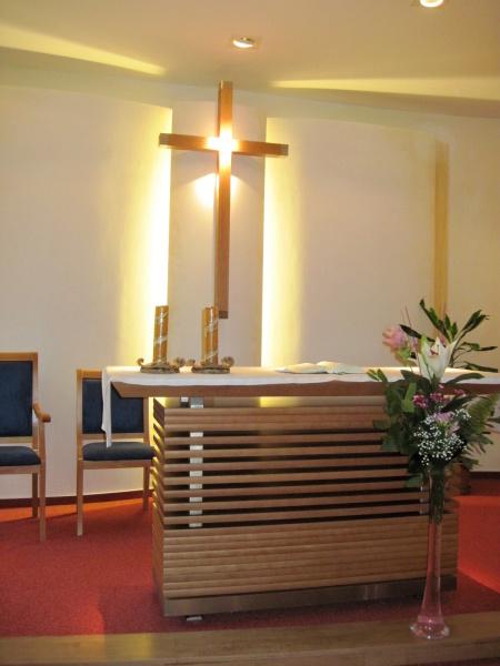 Kaple bl. Jana Pavla II. v hospici