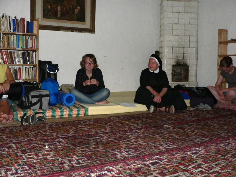 Sestra Kateřina a Bára