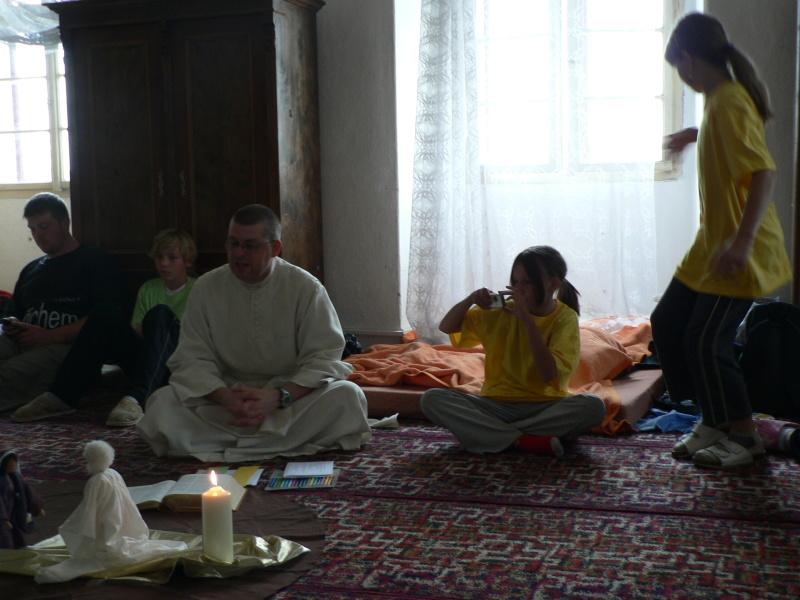 Dopolední program na téma Nanebevzetí Panny Marie