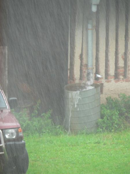 A pršelo docela dost...