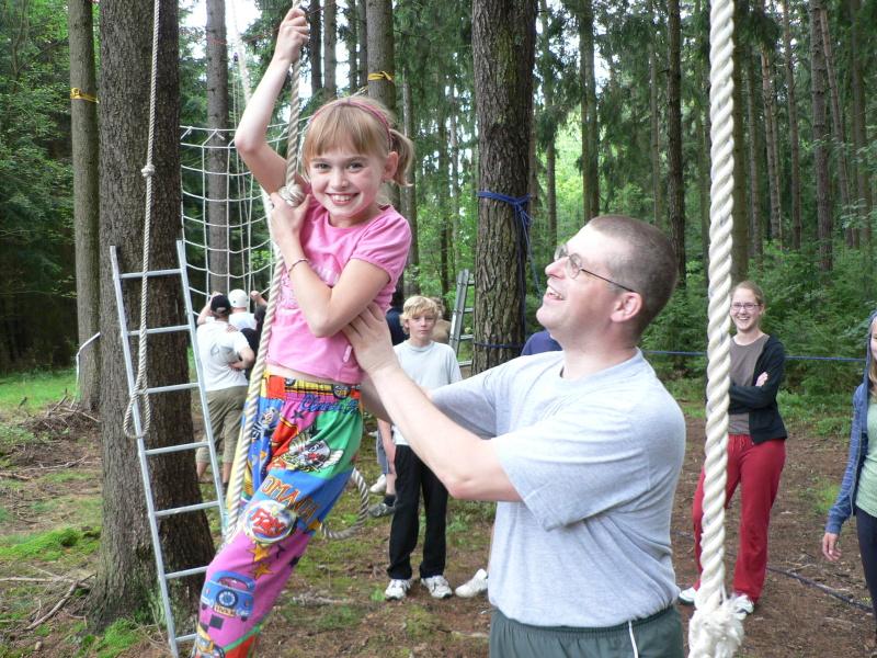 Malá gymnastka Johanka
