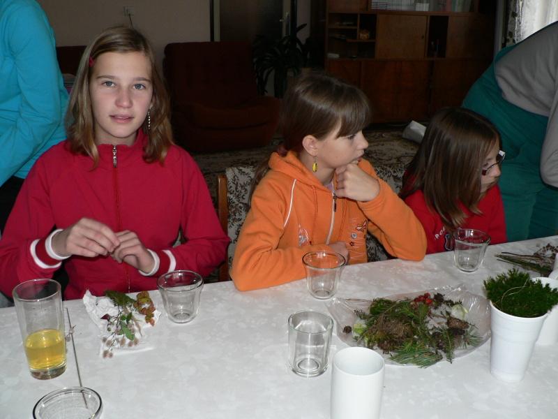 Pája, Michalka a Verča při tvoření