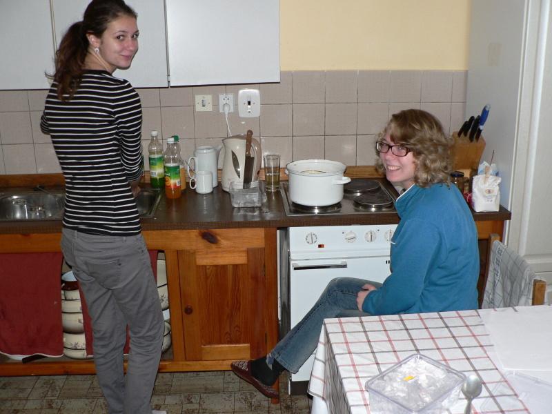 V kuchyni se rozpouštěl gel...