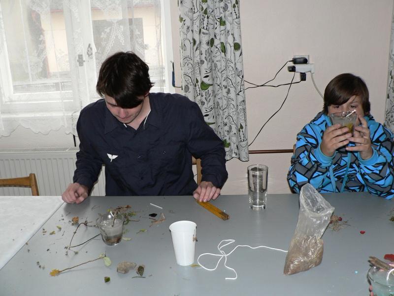 Petr a Vašek se svými výrobky