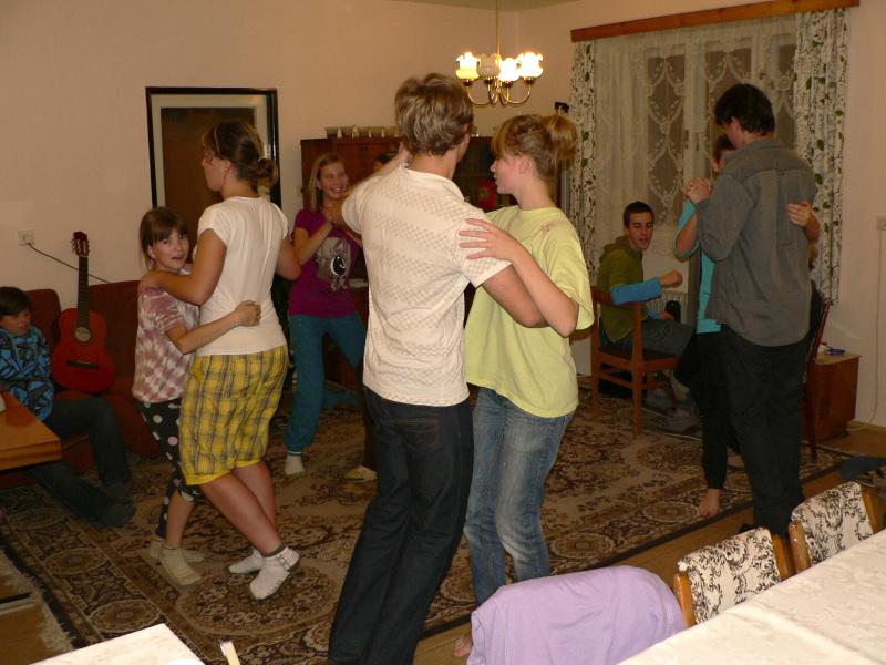 Večerní tancování...