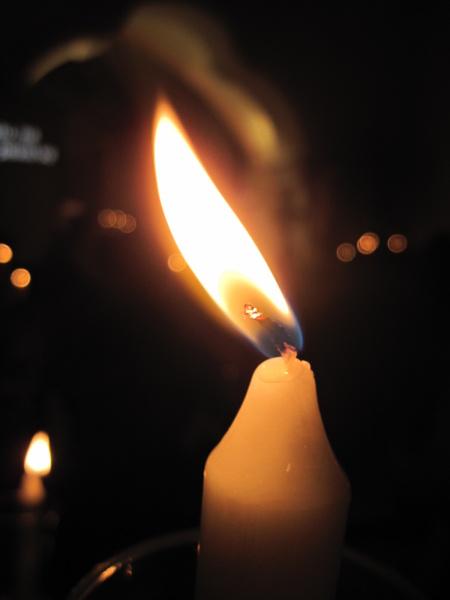 Světlo svíčky...