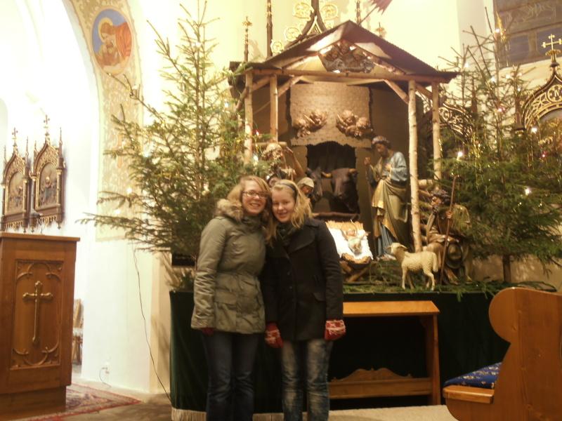 V kostele... :-)