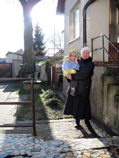 Sestra Kateřina s nejmenším králem