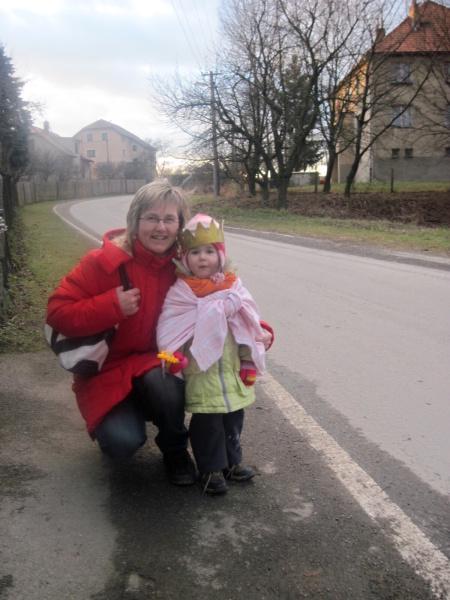 Maminka s královnou Anežkou