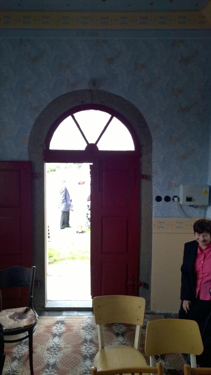 Kaplička sv. Václava od oltáře