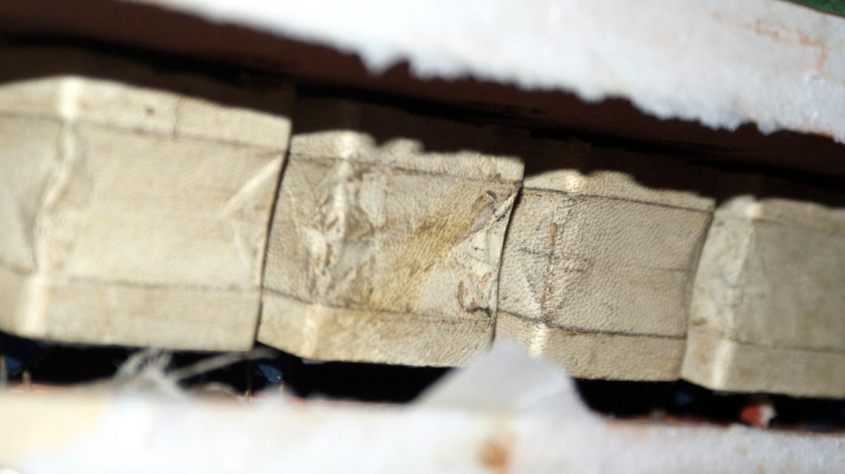 28. leden: Detail původních míšků...