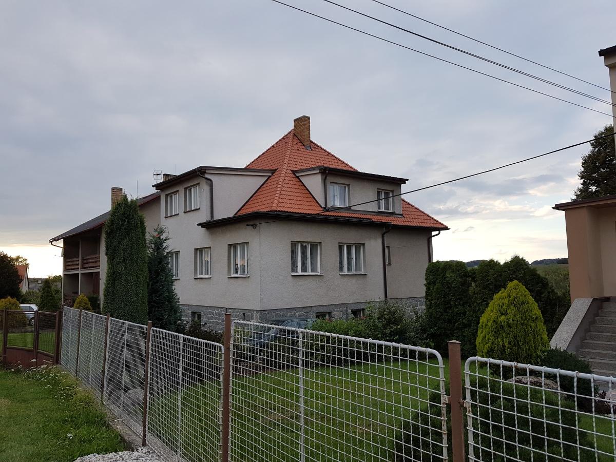 Dokončená nová střecha