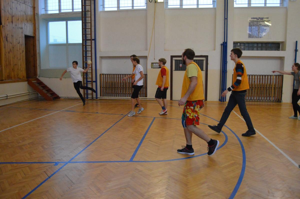 Pohybové aktivity v klučenické tělocvičně