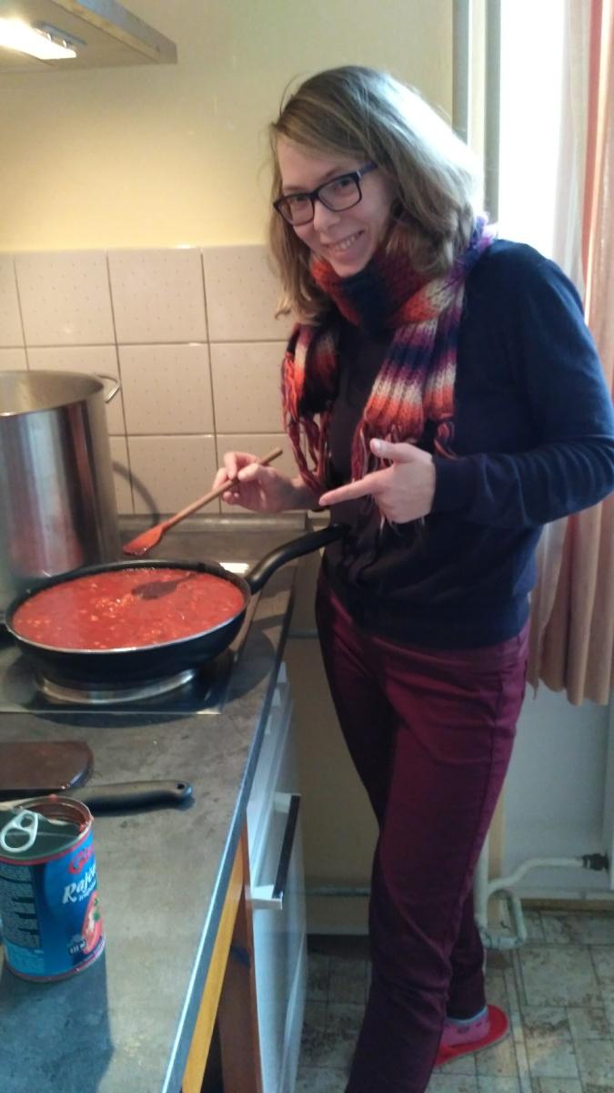Příprava oběda