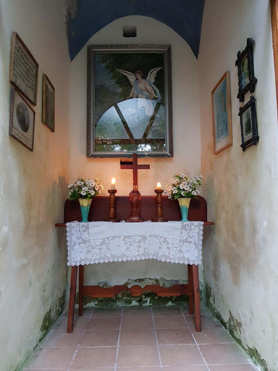 Pohled do kaple Andělů strážných