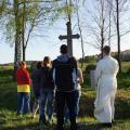 Poslední desátek jsme se modlili u kříže v Záluží