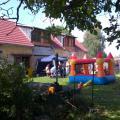Tradiční skákací hrad pro vyžití dětí